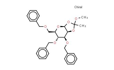 16697-49-7 | 3,4,6-Tri-o-benzyl-1,2-o-(1-methoxyethylidene)-beta-D-mannopyranose