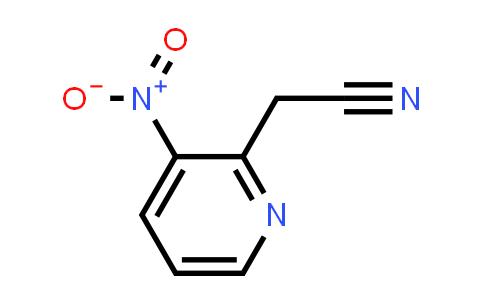 DY456636 | 123846-65-1 | (3-Nitro-pyridin-2-yl)-acetonitrile