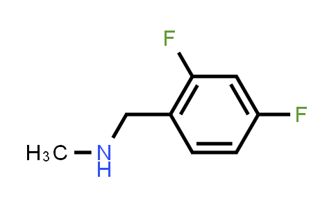 696589-32-9 | N-(2,4-Difluorobenzyl)-N-methylamine