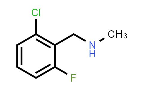 62924-64-5 | N-(2-Chloro-6-fluorobenzyl)-N-methylamine