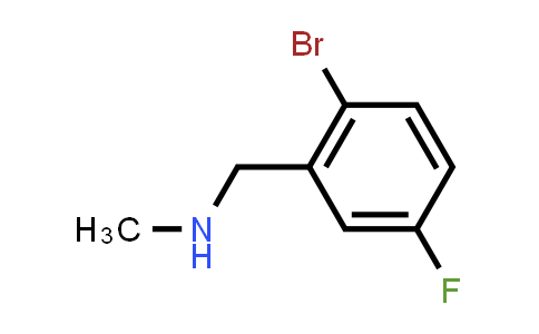 MC456654 | 887139-05-1 | N-(2-Bromo-5-fluorobenzyl)-N-methylamine