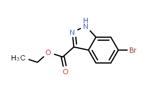 MC456666 | 885272-94-6 | 6-Bromo-1H-indazole-3-carboxylic acid ethyl ester