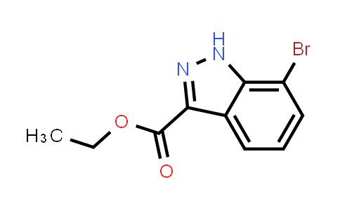 MC456669 | 885279-56-1 | 7-Bromo-1H-indazole-3-carboxylic acid ethyl ester