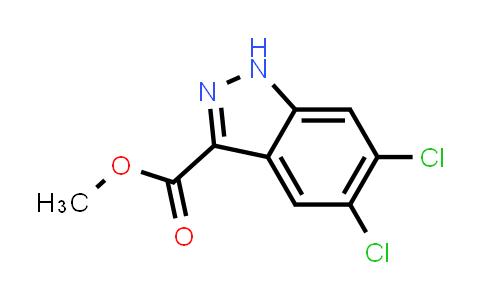MC456684 | 885278-48-8 | 5,6-Dichloro-1H-indazole-3-carboxylic acid methyl ester