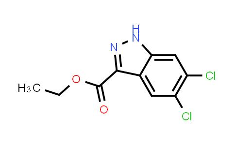 MC456685 | 885278-50-2 | 5,6-Dichloro-1H-indazole-3-carboxylic acid ethyl ester