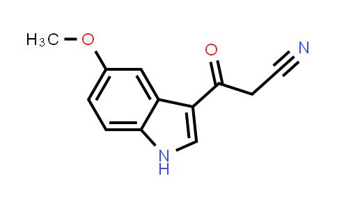 MC456690 | 821009-89-6 | 3-(5-Methoxy-1H-indol-3-yl)-3-oxopropionitrile