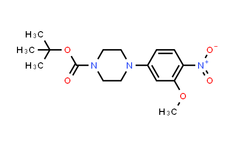 DY456721 | 1017782-79-4 | 4-(3-Methoxy-4-nitrophenyl)piperazine-1-carboxylic acid tert-butyl ester