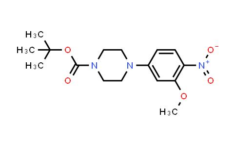 DY456721 | 1017782-79-4 | 4-(3-Methoxy-4-nitrophenyl)piperazine-1-carboxylic acid tert-butyl ester