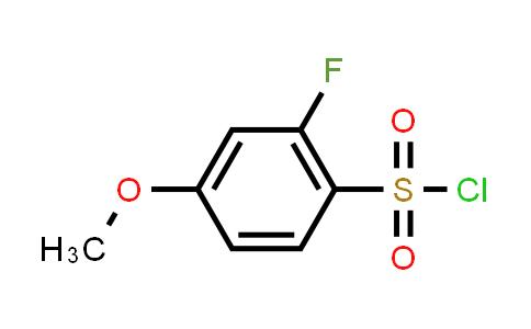 1016516-68-9 | 2-Fluoro-4-methoxybenzenesulfonyl chloride