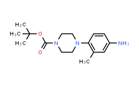 361345-37-1 | 4-(4-Amino-2-methyl-phenyl)-piperazine-1-carboxylic acid tert-butyl ester
