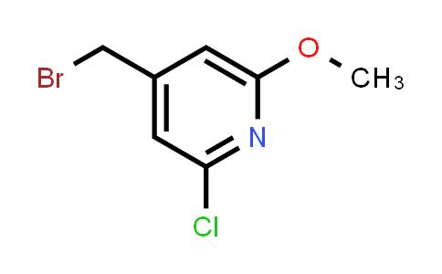 478946-80-4 | 4-Bromomethyl-2-chloro-6-methoxy-pyridine