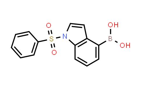 MC456760 | 1256358-55-0 | 1-Benzenesulfonyl-1H-indole-4-boronic acid