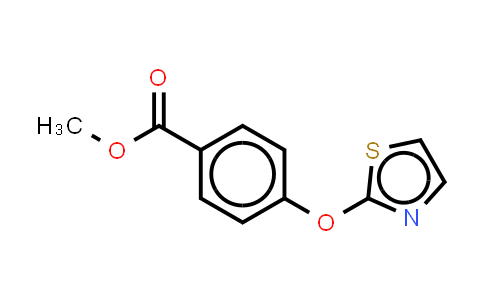 1189999-01-6 | Methyl 4-(2-Thiazolyloxy)benzolate