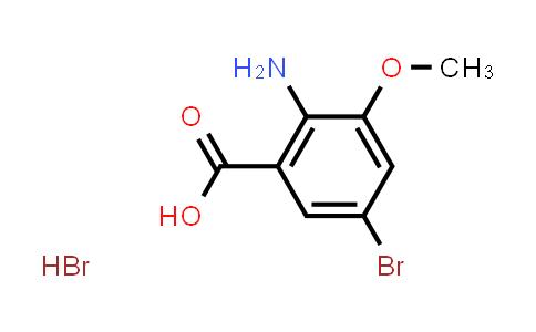 1215634-37-9 | 2-Amino-5-bromo-3-methoxybenzoic acid hydrobromide
