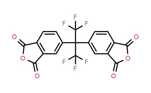 1107-00-2   4,4'-(Hexafluoroisopropylidene)diphthalic anhydride