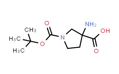 DY456901 | 862372-66-5 | 3-Amino-1-(tert-butoxycarbonyl)pyrrolidine-3-carboxylic acid