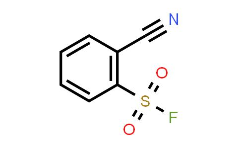395-46-0 | 2-cyano-Benzenesulfonyl fluoride