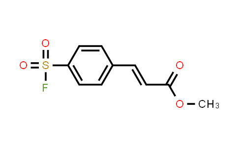 477211-26-0 | Methyl 3-[4-(fluorosulfonyl)phenyl]prop-2-enoate