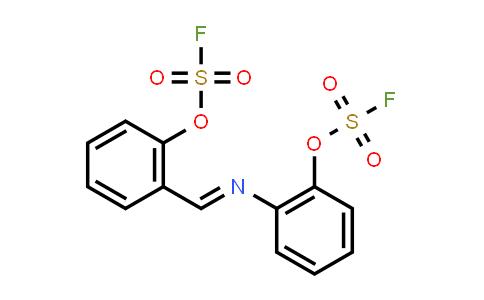 1839621-00-9 | Fluorosulfuric acid, 2-[(E)-[[2-[(fluorosulfonyl)oxy]phenyl]imino]methyl]phenyl ester