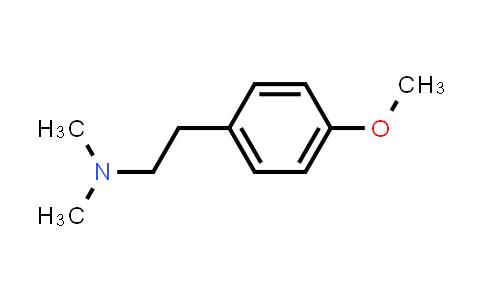 775-33-7 | 4-methoxy-N,N-dimethyl-Benzeneethanamine,