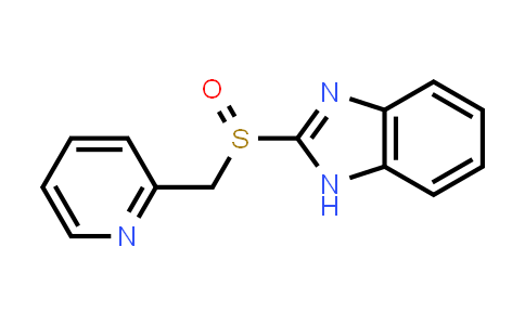 57237-97-5   2-[(2-pyridinylmethyl)sulfinyl]-1H-Benzimidazole