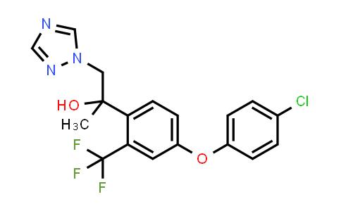 1417782-23-0 | 1H-1,2,4-Triazole-1-ethanol,alpha-(4-(4-chlorophenoxy)-2- (trifluoromethyl)phenyl)-alpha-methyl