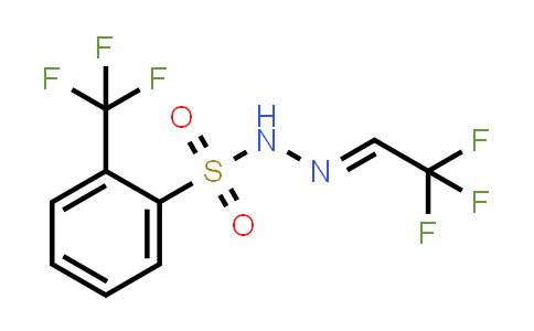2236129-81-8 | 苯磺酸,2-(三氟甲基)-,2-(2,2,2-三氟亚乙基)酰肼