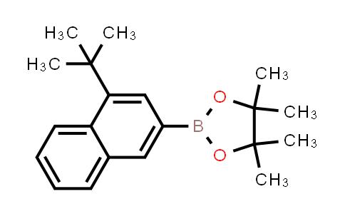 928226-83-9 | 2-(4-(tert-Butyl)naphthalen-2-yl)-4,4,5,5-tetramethyl-1,3,2-dioxaborolane