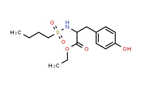 1352839-95-2 | N-(butylsulfonyl)-L-tyrosine,ethyl ester