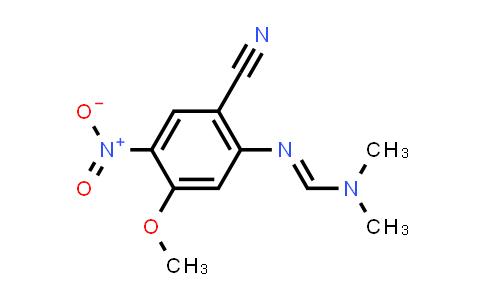 DY457151 | 1269400-04-5 | N'-(2-cyano-5-Methoxy-4-nitrophenyl)-N,N-diMethylforMiMidaMide