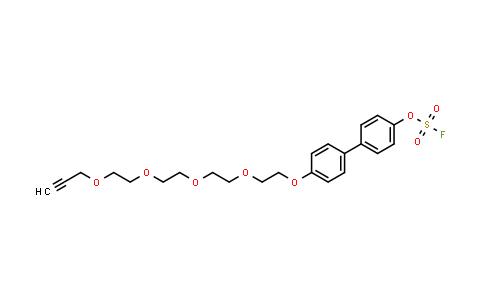 1931145-04-8 | 4'-(3,6,9,12-tetraoxapentadec-14-yn-1-yloxy)-[1,1'-biphenyl]-4-yl sulfurofluoridate