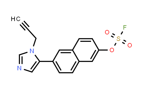 2205053-23-0 | 6-[3-(prop-2-yn-1-yl)imidazol-4-yl]naphthalen-2-yl sulfurofluoridate