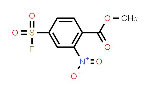 2137573-48-7 | methyl 4-(fluorosulfonyl)-2-nitrobenzoate