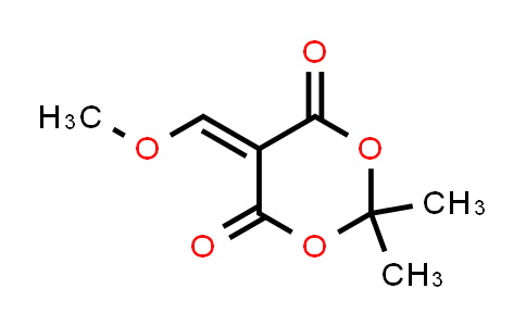 15568-85-1 | 5-(Methoxymethylene)-2,2-dimethyl-1,3-dioxane-4,6-dione