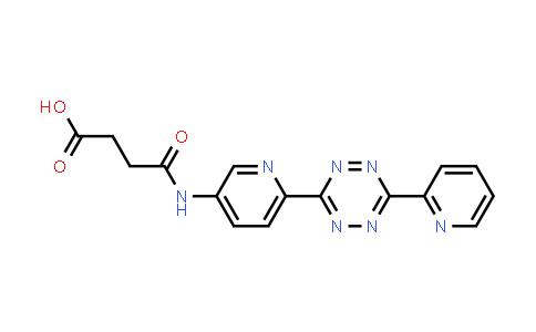 1104077-91-9 | 4-Oxo-4-[[6-[6-(2-pyridinyl)-1,2,4,5-tetrazin-3-yl]-3-pyridinyl]amino]butanoic acid