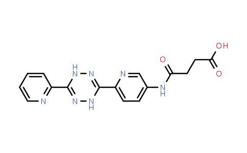 1907651-34-6 | 4-[[6-[1,4-Dihydro-6-(2-pyridinyl)-1,2,4,5-tetrazin-3-yl]-3-pyridinyl]amino]-4-oxobutanoic acid