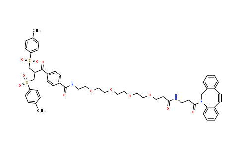 MC457283 | 1854034-70-0 | Bis-sulfone-peg4-dbco