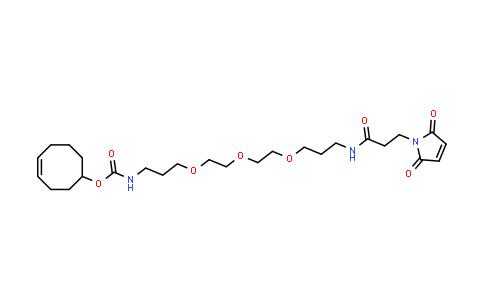 1609659-01-9 | (4E)-TCO-PEG3-Maleimide