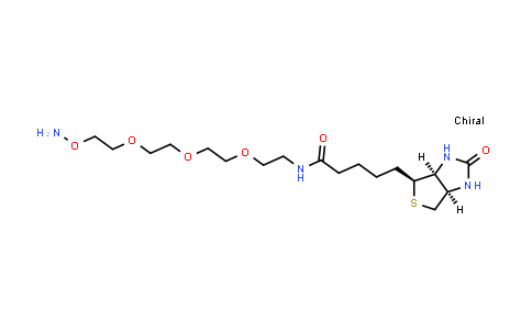 1786206-22-1 | Biotin-PEG3-oxyamine HCl salt