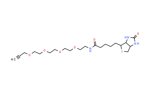 MC457365 | 1262681-31-1 | Biotin-PEG4-alkyne