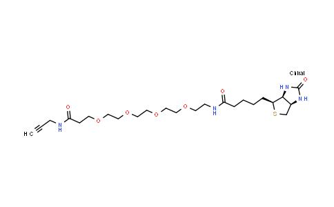 MC457367 | 1006592-45-5 | Biotin-PEG4-amide-Alkyne
