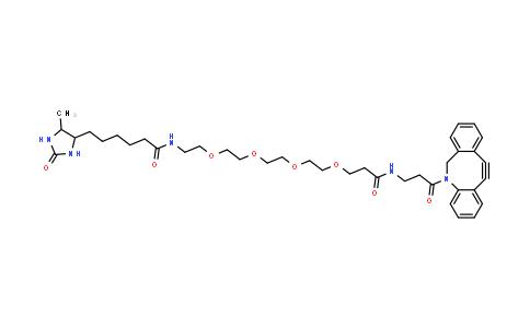 MC457395 | 2032788-37-5 | Desthiobiotin-PEG4-DBCO