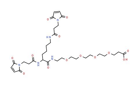 1426164-52-4 | Bis-Mal-Lysine-PEG4-acid