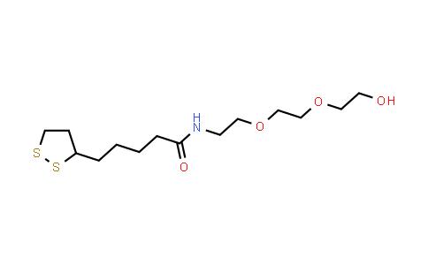 MC457436 | 1674386-82-3 | 硫辛酸-PEG2-醇