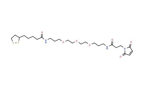 MC457439 | 1314378-19-2 | 硫辛酸-PEG3-马来酰亚胺