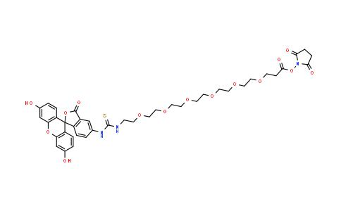 MC457444 | 1818294-35-7 | Flurescein-PEG6-NHS ester