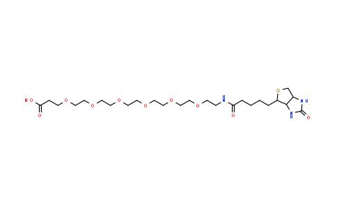 1352814-10-8   Biotin-PEG6-COOH