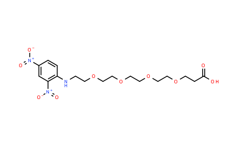 MC457506 | 858126-76-8 | DNP-PEG4-acid