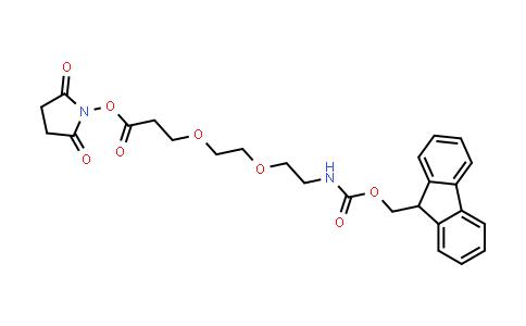 MC457522 | 1807534-85-5 | FmocNH-PEG2-NHS ester