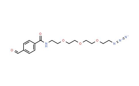 1807540-88-0 | CHO-Ph-PEG3-azide